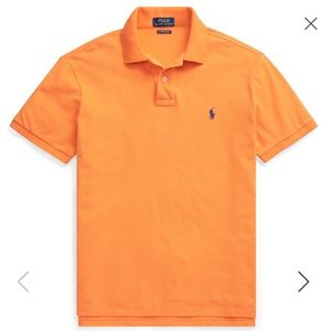 Polo by Ralph Lauren Shirts - Classic fit Polo by Ralph Lauren orange shirt